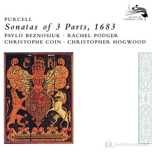Christopher Hogwood - Purcell: Sonatas Of 3 Parts,1863