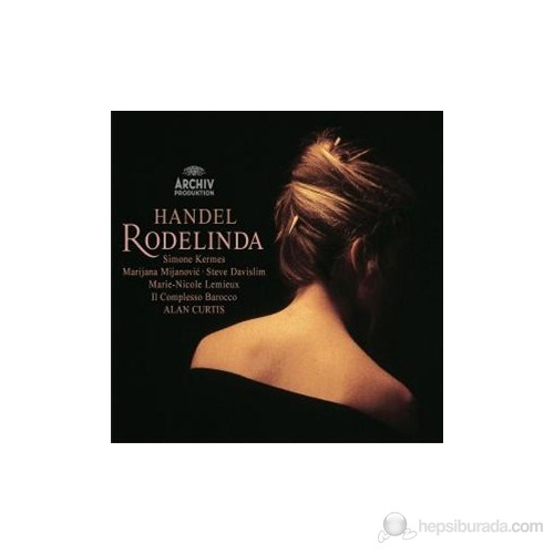 Alan Curtis - Handel: Rodelinda ( 3 Cd )