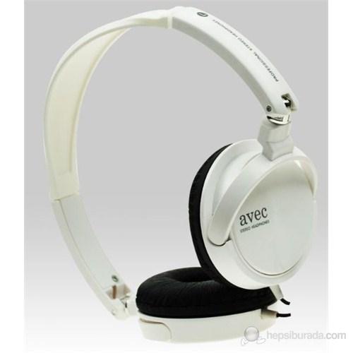 Avec SM-HP270 Beyaz Katlanabilir Kulaküstü Kulaklık