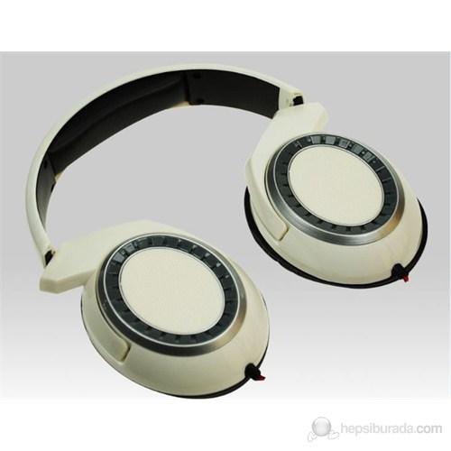 Avec AV-K6568 Beyaz Kulaküstü Kulaklık