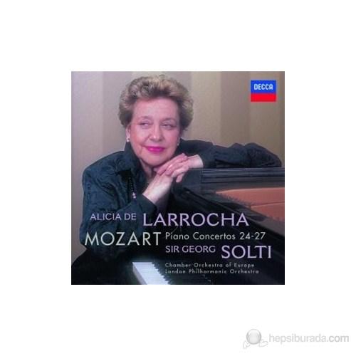 Alicia De Larrocha - Mozart: Piano Concertos Nos:24-27