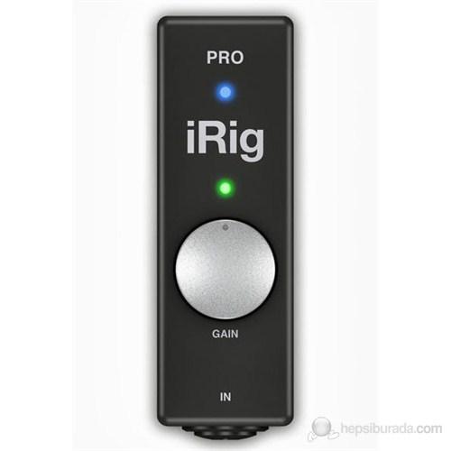 IK Multimedia iRig PRO Ses arabirimi