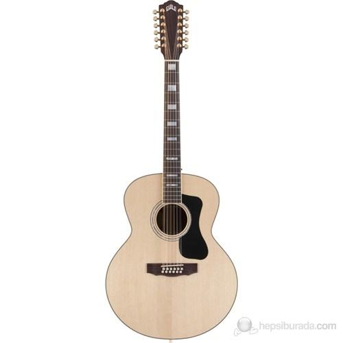 Guild F-1512 RW NT 12 Telli Jumbo Akustik Gitar