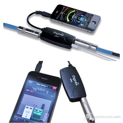 Cherub Gb2I İphone İçin Gitar Ve Bass Converter Adaptör