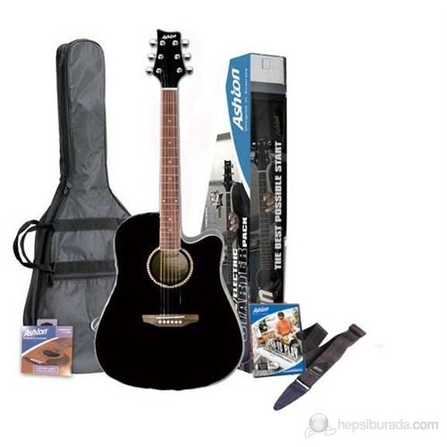 Ashton Spd25Ceq Elektro Akustik Gitar Paketi