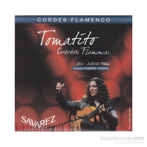 Savarez Tomatıto Flamenco Gitar Teli - Yüksek Tansiyon