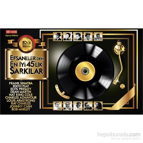 Efsanelerden En İyi 45'Lik Şarkılar - 10 CD