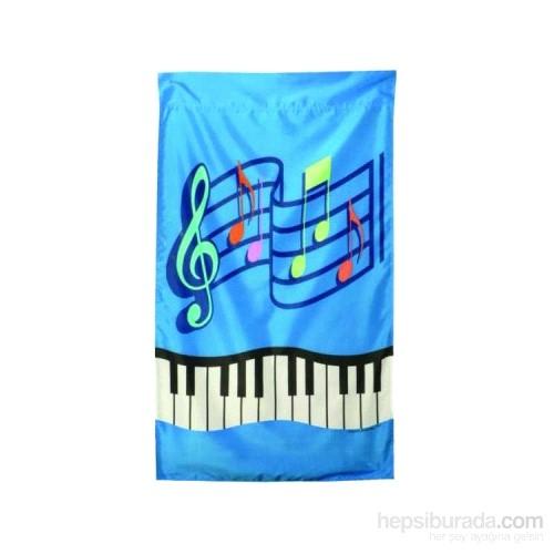 Müzik-Tuşe Açık Hava Flaması