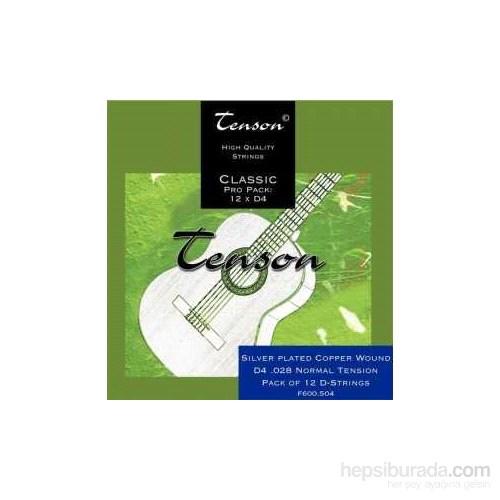 Klasik Gitar Teli D4 (Re Teli) Naylon