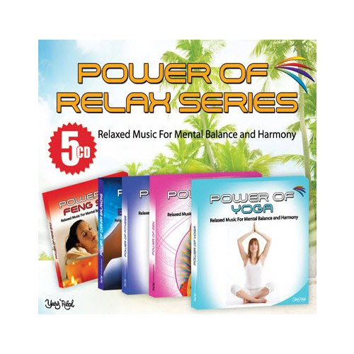 Power Of Relax Series (5 CD)
