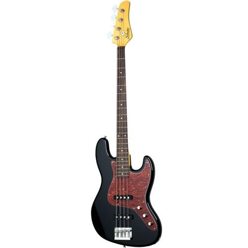 Schecter Diamond J-Bass BLK Bass Gitar