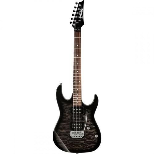 Ibanez GRX70QA-TKS Transparent Black Sunburst Elektro Gitar
