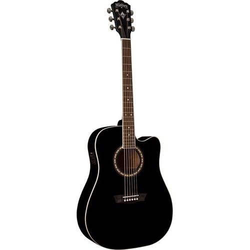 Washburn USM-WD10CEB Elektro Akustik Gitar