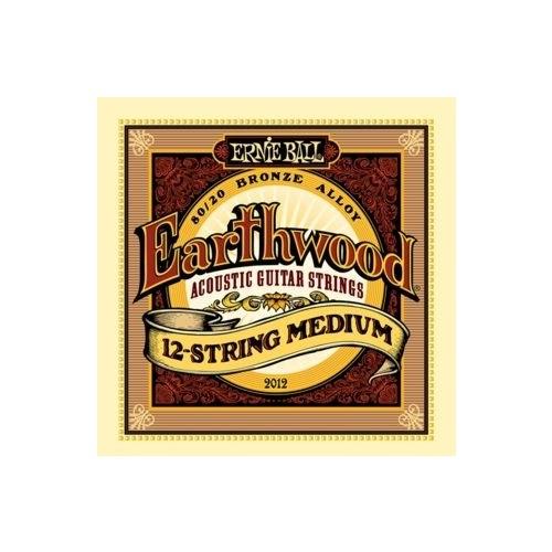 Ernie Ball P02012 Earthwood Medium 80/20 Bronze 12 Telli Akustik Gitar Teli
