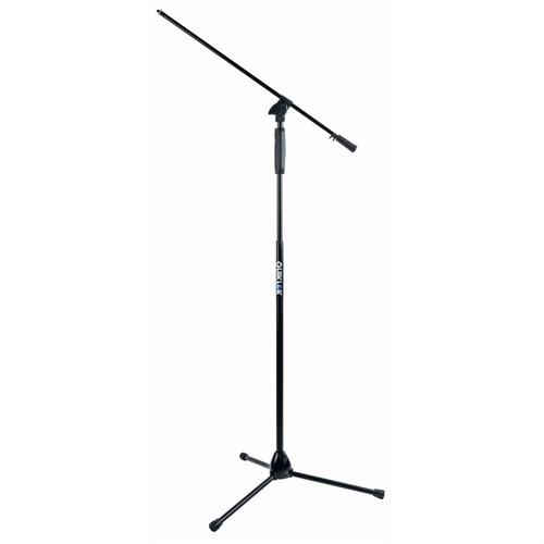 Quik Lok A989 BK EU One-Hand Clutch Siyah Tripod Mikrofon Standı (Teleskopik Boom)