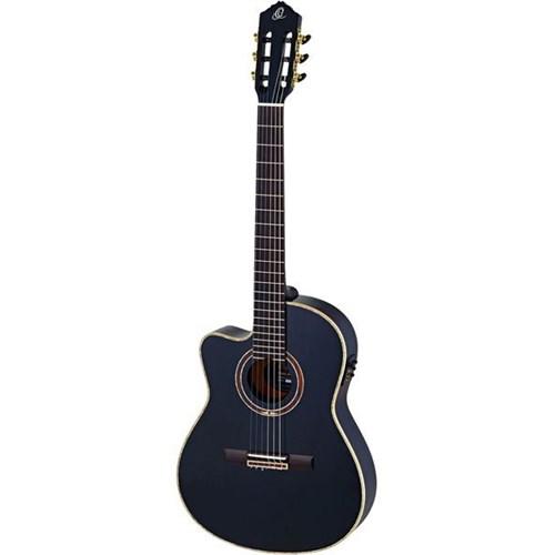 Ortega Rce138t4bkl Solak Elektro Klasik Gitar