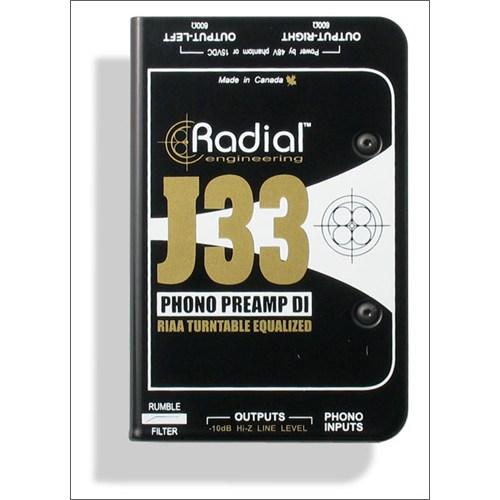 Radial J 33 Aktif Dı Box