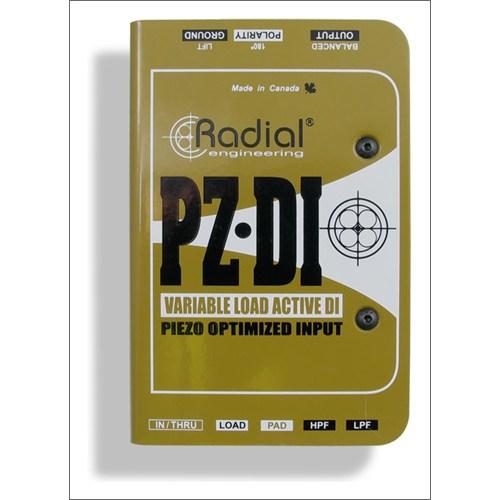 Radial Pz Dı Piezolu Ensturmanlar İçin Dı Box