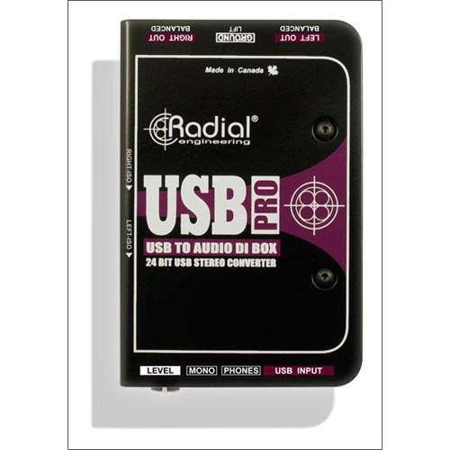 Radial Usb Pro Aktif Stereo Usb Laptop Dı Box