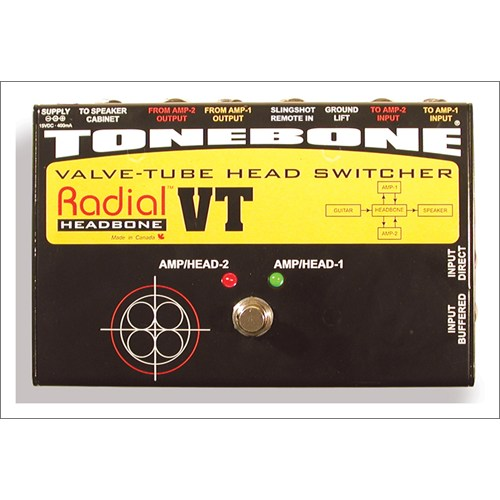 Tonebone Headbone Vt Lambalı Çoklu Gitar Amfisi Değiştirici