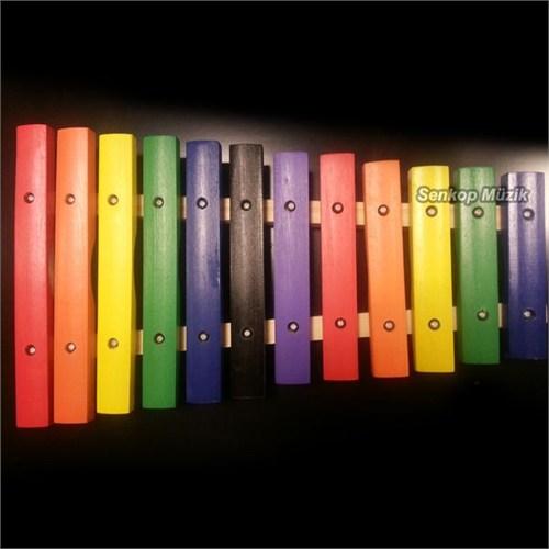 Jinbao Jb201512 Xylophone,12 Notes,Diatonic