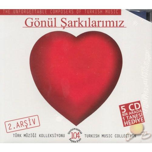 Gönül ŞARKILARIMIZ-2 5 Cd Birarada (cd)