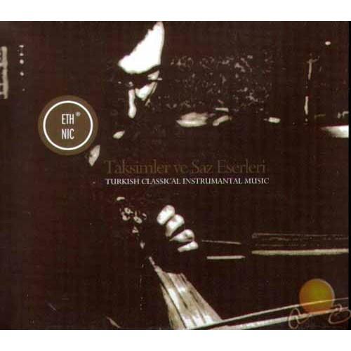 Taksimler Ve Saz Eserleri (cd)