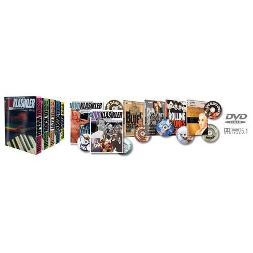 Klasikler 50 DVD + 50 Fasikül + 5 Klasör
