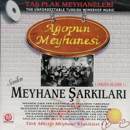Meyhane Şarkıları 1 (agop Un Meyhanesi) (cd)