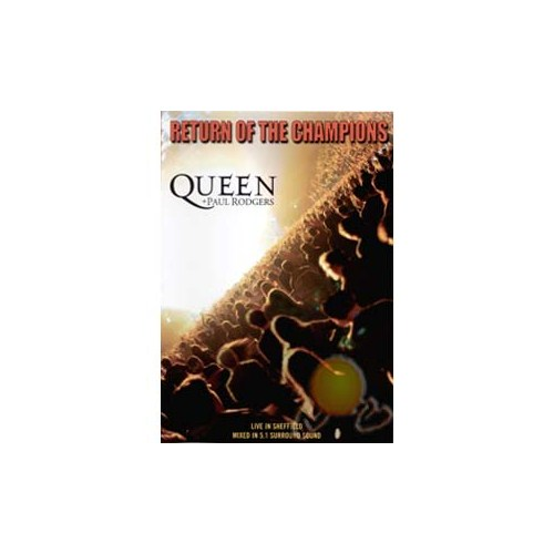Queen + Paul Rodgers - Return Of The Champıons - Live In Sheffıeld (dvd)