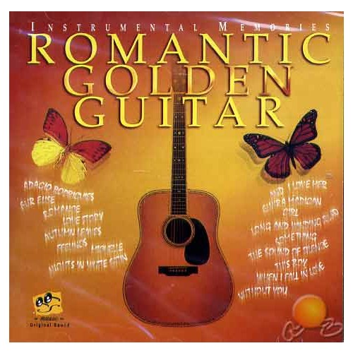 Romantic Golden Guitar