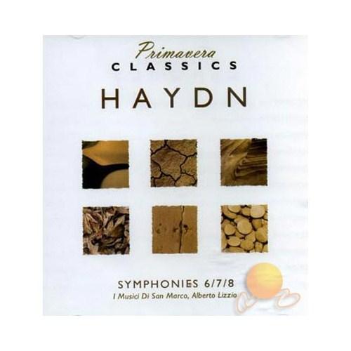 Haydn - Symphonıes 6 / 7 / 8
