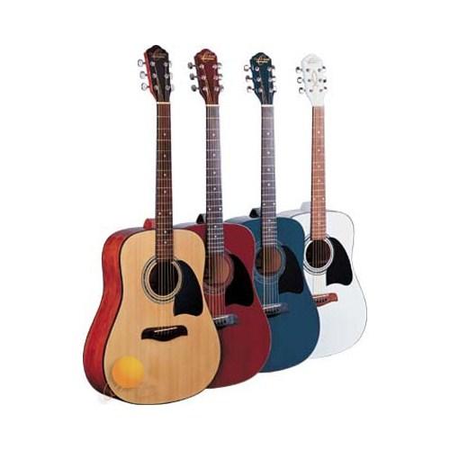 Oscar Schmidt OG2TR Trans Red Akustik Gitar