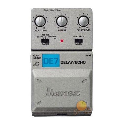 Ibanez De-7 Delay/Echo Compact Pedal