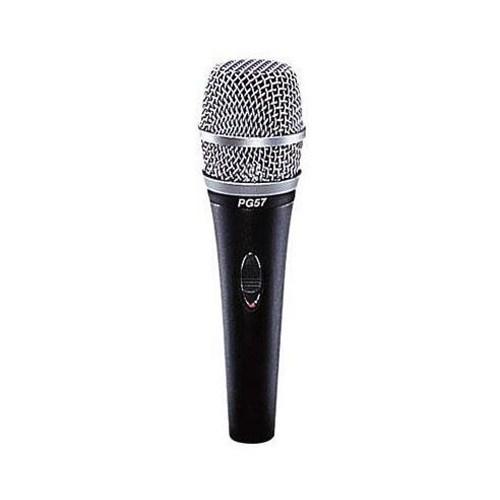 Shure PG-57 Xlr Enstrüman Mikrofonu (paket)