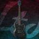 Esp Ltd Viper-100 Flamed Maple See Thru Black Elektro Gitar