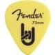 Fender Gitar Penası Matte Delrin Pickpacks (12) Yellow Medium 0.73 Mm