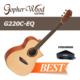 Gopherwood G220C Eq Ns Elektro Akustik Gitar