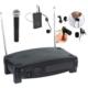 D-Sound U-520 1 Yaka 1 El Telsiz Mikrofon