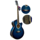 Gitar Akustik XAC45EQ4BL Sahne Gitarı Donizetti