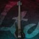 Esp Ltd LB55BLK Black Bas Gitar