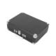 Mikado Nostalgia Mn-P317 Siyah Turntable+Rca+Bluetooth Destekli Müzik Kutusu -