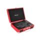 Mikado Nostalgia MN-P317 Kırmızı Turntable + Rca + Bluetooth Destekli Müzik Kutusu