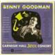 Benny Goodman - The Famous 1938 Carnegie Hall Jazz Concert CD