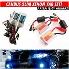 AutoCet Can-Bus H4-3 8000K H/L Çift Devre Motorlu UZUN/KISA Xenon Far Seti 4176a
