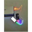 Space Çoklu ışıklı Şarj Kablosu