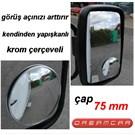 Dreamcar Kör Nokta Aynası Ø 75 mm Çaplı Krom 2304202