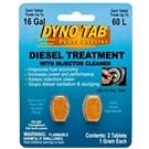 Dyno-Tab Dizel katkısı ve Enjektör Temizleyicisi 2 kullanım (Made in USA)