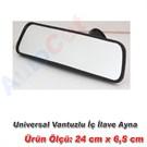 AutoCet Universal Vantuzlu ic ilave Aynası (51471)