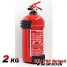 AutoCet 2 Kg Yangın Söndürücü Monometreli CE,TSE Belgeli 2 YIL GARANTİLİ (51450)
